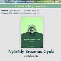 Nyrdy Erazmus Gyula emlkezete (knyvbemutat)