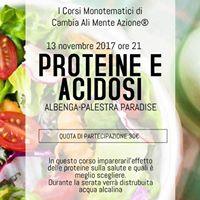 Proteine e acidosi