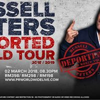Russell Peters Deported World Tour Live In Kuala Lumpur