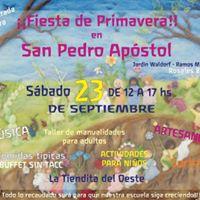 Wicca en Fiesta de Primavera en San Pedro Apstol