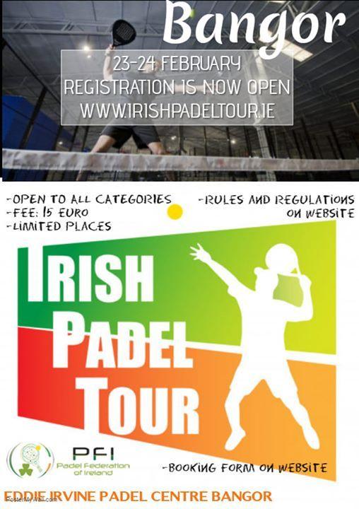 Irish Padel Tour Bangor