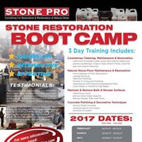Stone Pros BOOT CAMP