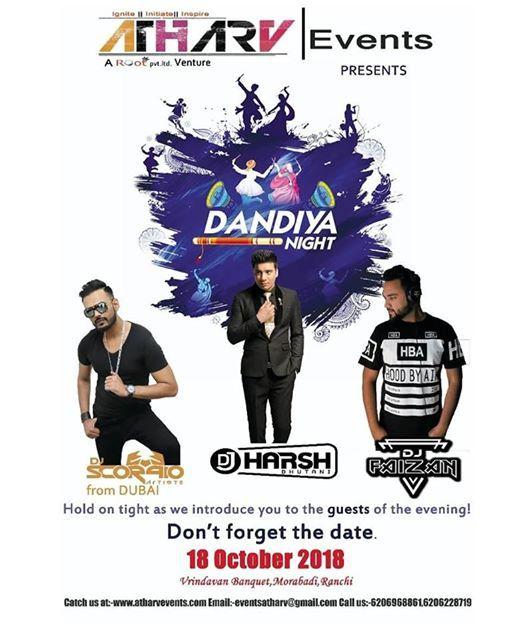 Dandiya Night With Live DJ.
