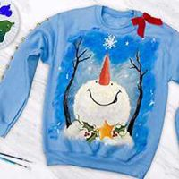 Paint your Own Holiday Sweater - Register by 1126