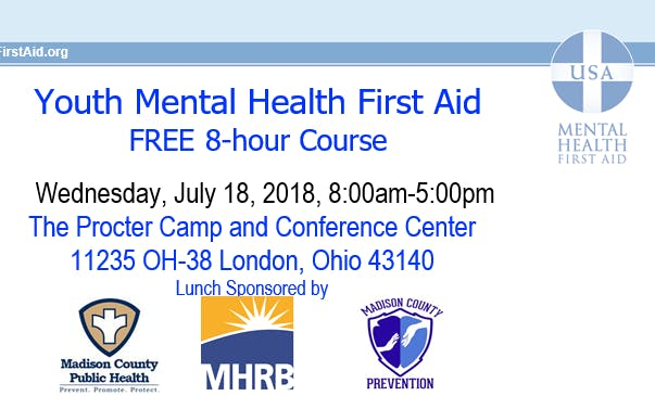 Youth Mental Health First Aid Madison County