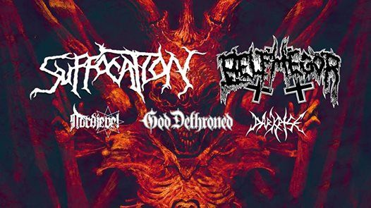 Suffocation Belphegor en God Dethroned - Victorie Alkmaar