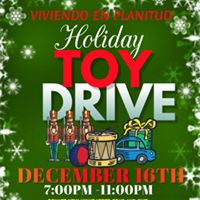 First Holiday Toy Drive