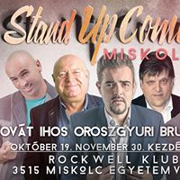 Stand up comedy Roadshow vacsorval Miskolcon
