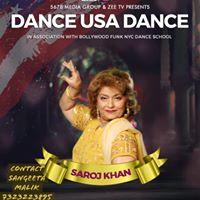 Dance Workshop with Saroj Khan in New Jersey