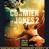 UFC 214 World Light Heavyweight Championship Cormier vs Jones 2