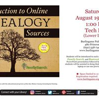 Introduction to Online Genealogy