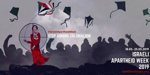 Israeli Apartheid Week 2019  Paris 8 Dsarmons le Colonialisme