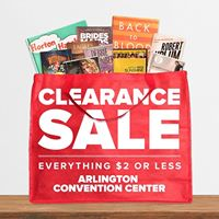 Clearance Sale at the Arlington Convention Center