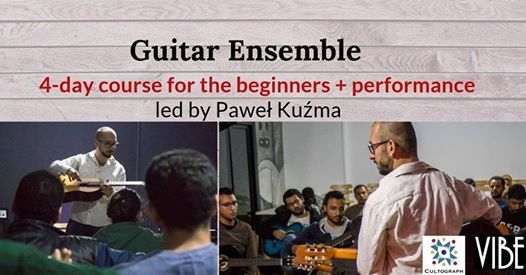 Guitar Ensemble course for beginners led by Pawe Kuma