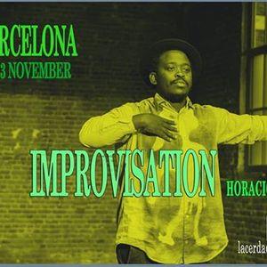 Improvisation with Horacio Macuacua  Barcelona 2018