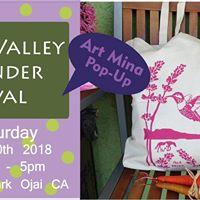 OjaiArt Mina pop-up at Ojai Valley Lavender Festival