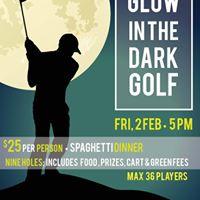 Glow in the Dark Golf