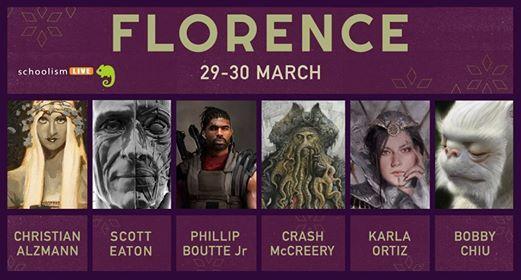 Schoolism Live Workshop 2019 Florence -Concept Art Game & Cinema