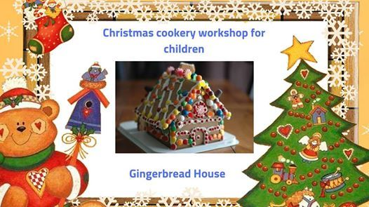 Christmas Cookery Workshop for children from 2 years old