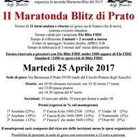 II Maratonda Blitz di Prato 2017