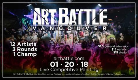 Art Battle Vancouver - Jan 20 2018