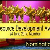 Human Resource Development Awards - Indian HR Convention 2017