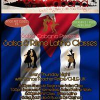 Salsa Cabana Salsa &amp Ritmo Latino Classes at Now Serving