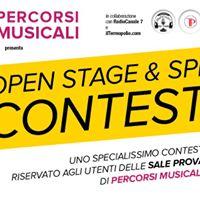 Open stage &amp SPL Contest - gennaio