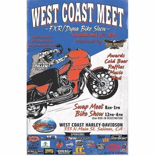 West Coast Meet Fxr/dyna Bike Show at West Coast Harley-Davidson