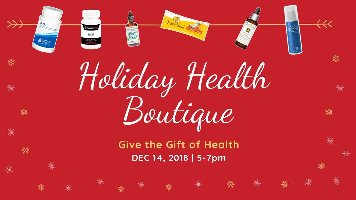 Holiday Health Boutique