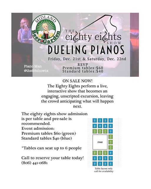 The Eighty Eights Show - Dueling Pianos