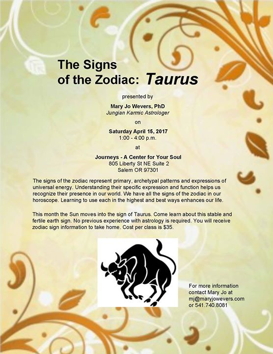 The Signs Of The Zodiac In Astrology At Journeys A Center For Your