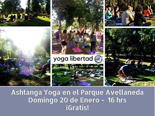 Ashtanga Yoga en el Parque Avellaneda -Gratis
