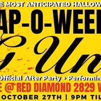 G UNIT SHUTS DOWN RED Diamond &quotTrap-O-Ween Costume Party