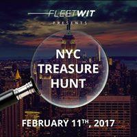 NYC Treasure Hunt for 5000
