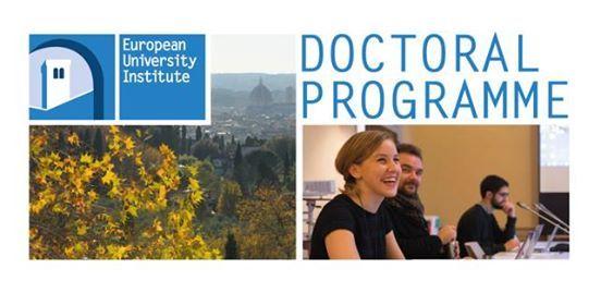 EUI Ph.D. opportunities  Presentation in Nicosia