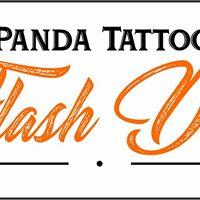 Flash Day Panda Tattoo