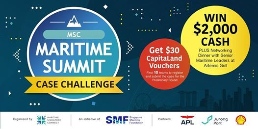 MSC Maritime Summit Case Challenge - Information Session