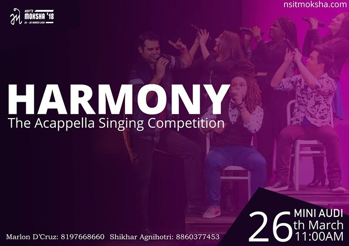 Harmony - The A Cappella Singing Competition