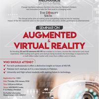 Seminar on Augmented &amp Virtual Reality