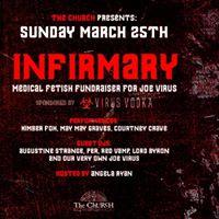 Infirmary Medical Fetish Fundraiser for Joe Virus