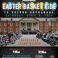 Easter Basket Ride to Oxford Orphanage