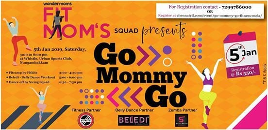 Go Mommy Go - Fitmomss Squad (an event by Wondermoms)