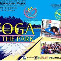 Yoga in the Park - Savasana into Summer