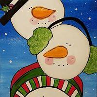 Canvas &amp Cocktails - Snowballin