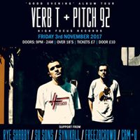 Beats &amp Bars Coventry - VERB T &amp PITCH 92 Good Evening Tour