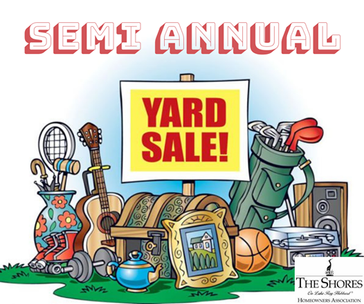 Spring Community Yard Sale