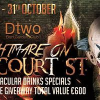 Halloween Spooktacular at Dtwo - Nightmare on Harcourt St.
