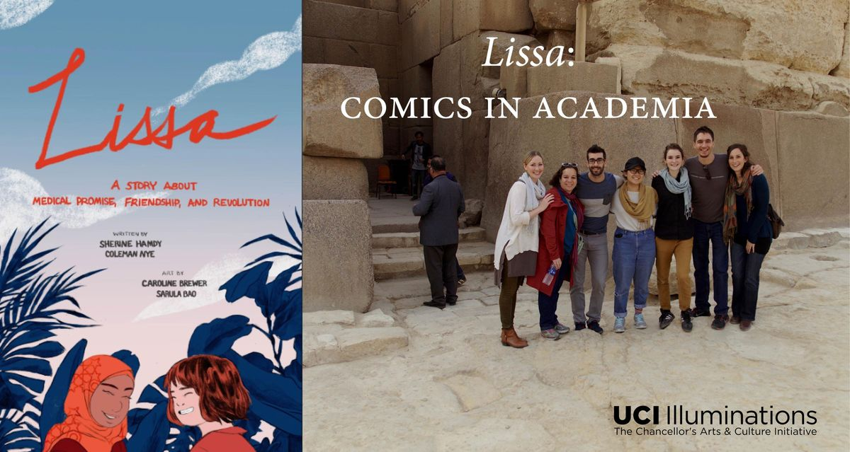 Film-Screening of The Making of Lissa Behind the Scenes (Comics in Academia)