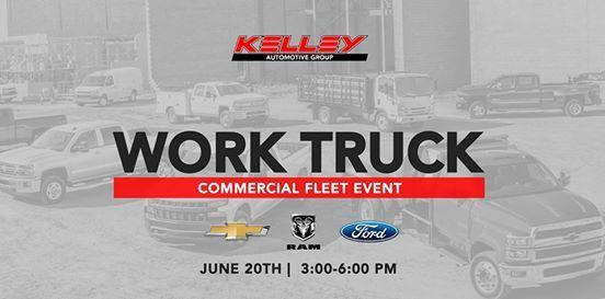 Kelley Chevrolet Fort Wayne >> Work Truck Commercial Fleet Event At Kelley Chevrolet Fort
